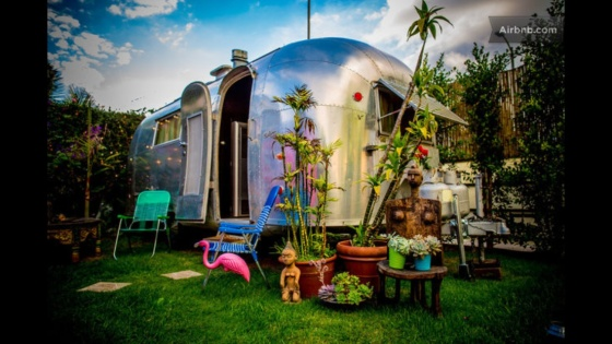 Airstream Airbnb at Santa Monica