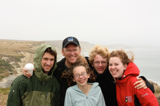 Point Reyes National Seashore with the family