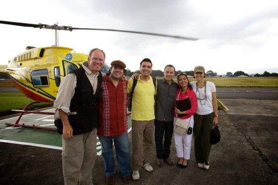 Departing Guatemala City with the Orphan Sunday team and friends