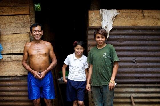 Maria Jose's family