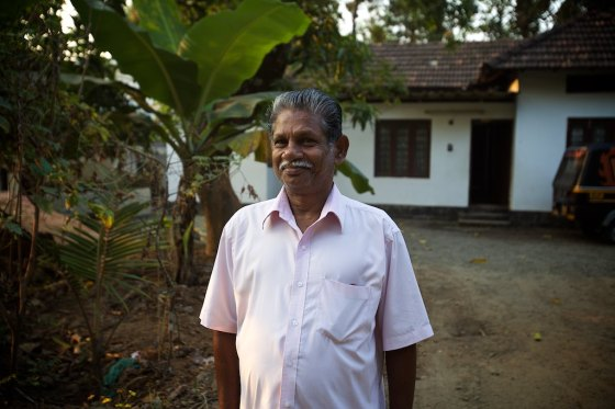 Binu's father