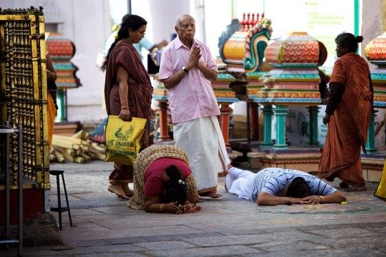 Sastanga Namaskaram - Total surrender