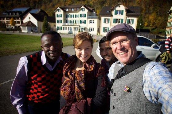 Brilliance Chondwe, Jodi Tucker, Sam Alex and myself