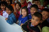 Children at Pastor Ah Meh's school and orphanage