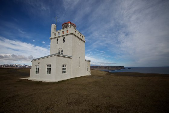 Iceland's Dyrhólaey lighthouse 2