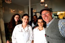 The wonderful staff at NaNa Cafe