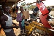Brick making machine 4