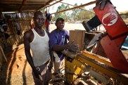 Brick making machine 5