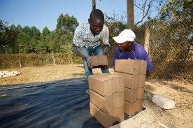 Brick making machine 8