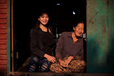I Loved getting to know this grandmother and granddaughter in Cambodia, they are both so beautiful