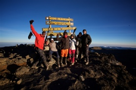 Summiting Mount Kilimanjaro for a cause