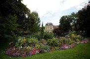 Park in the Morais area of Paris
