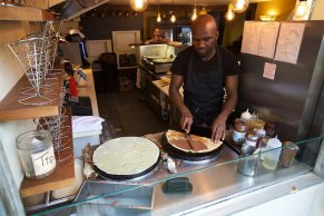 What Paris is famous for.... Crepes....